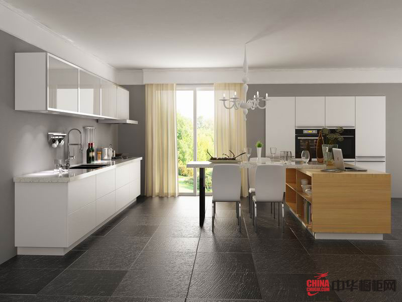 乡村风格容声橱柜图片普罗旺斯provence——清新的整体橱柜装修效果图欣赏 开放式厨房装修效果图大全2012图片