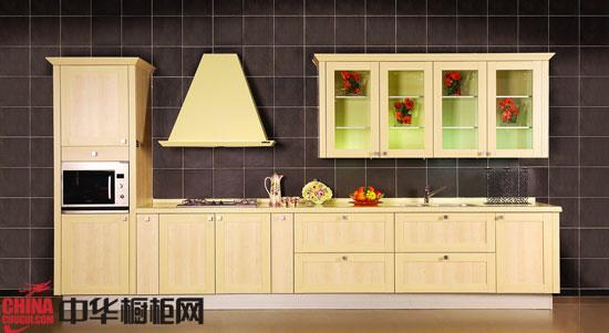 现代家庭里三种橱柜摆放样式图片