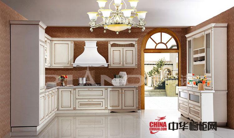 皮阿诺欧式风格整体橱柜效果图——低调的奢华更令人沉醉