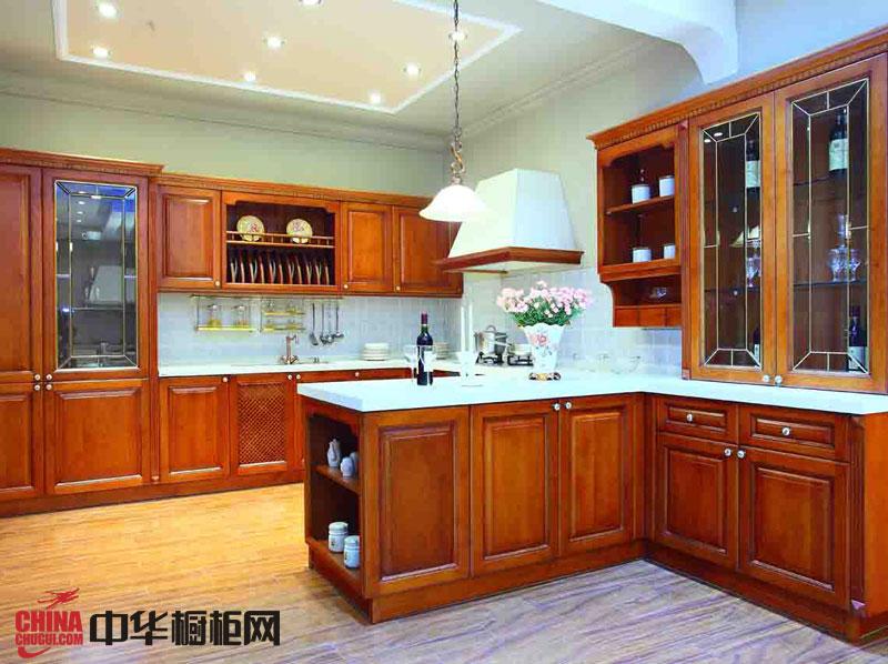 正华厨柜图片|实木橱柜图片|古典风格橱柜图片|整体橱柜图片欣赏