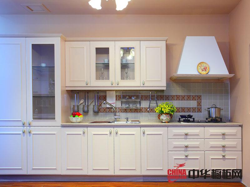 正华厨柜简欧风格图片 实木橱柜图片