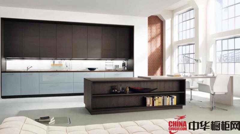 乡村风格整体橱柜装修效果图 厨房橱柜效果图欣赏