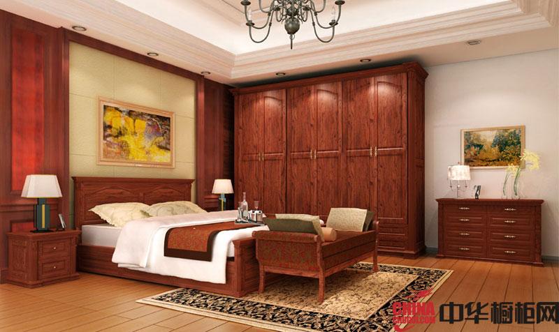 古典风格整体衣柜图片 实木衣柜图片欣赏