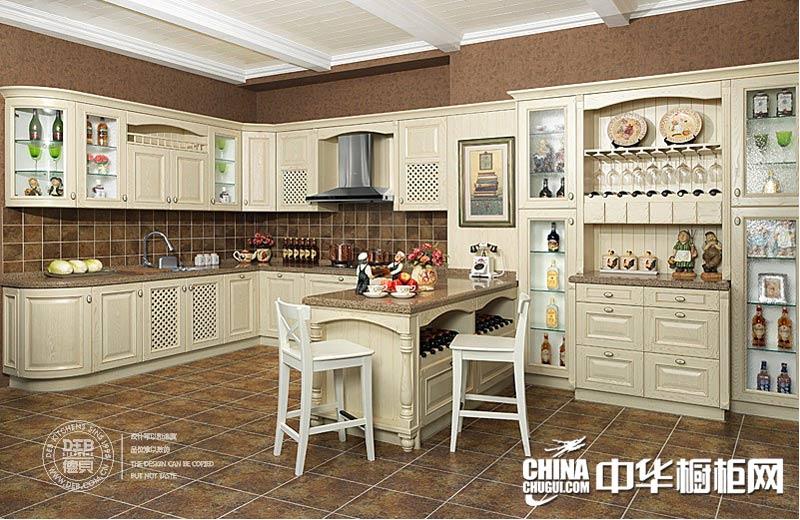 德贝橱柜图片-普罗旺斯 欧式橱柜图片|实木橱柜图片传递柔美浪漫的生活追求