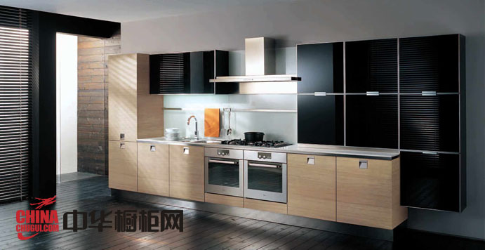圣格兰迪厨柜图片-后现代主义烤漆橱柜图片 整体橱柜效果图