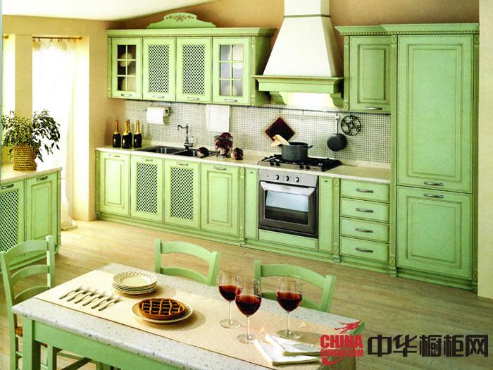 田园风格圣格兰迪厨柜图片-巴洛克 欧式橱柜图片|实木橱柜图片