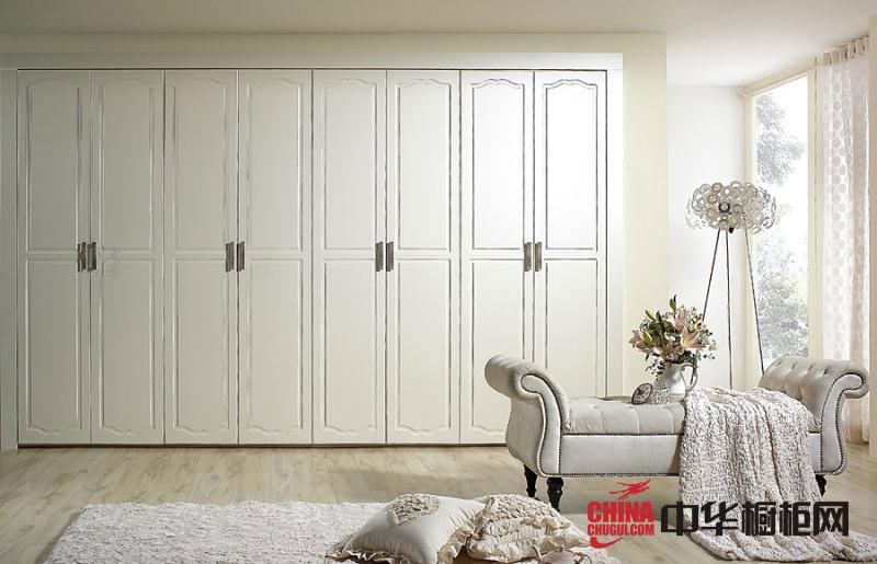 白色整体衣柜图片-欧式风格大衣柜效果图-卧室衣柜装修效果图展示
