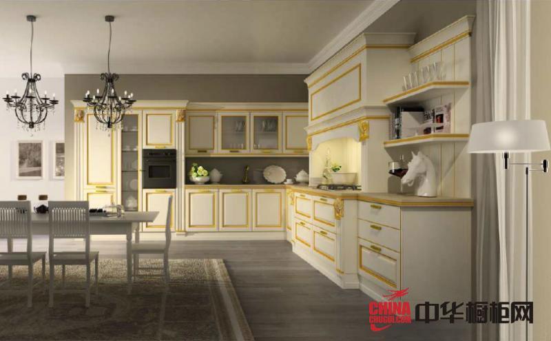 韩丽橱柜图片欧式橱柜效果图 实木橱柜图片 整体厨房效果图展示
