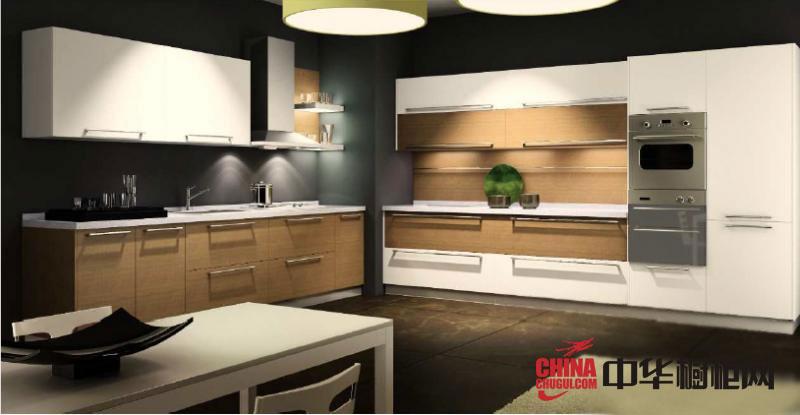 田园风格方太橱柜图片 2012年最新款整体厨房装修效果图欣赏