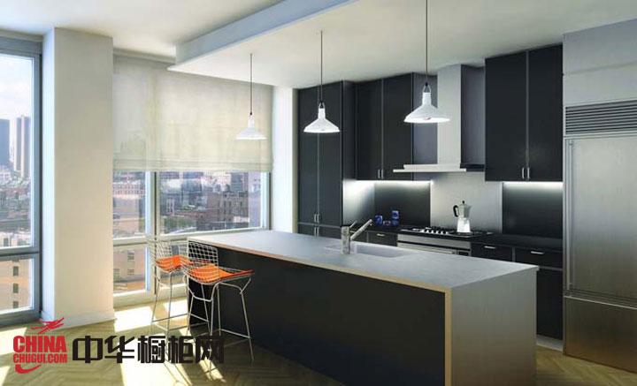 银白色不锈钢橱柜效果图-好太太橱柜图片-2012年厨房整体橱柜效果图欣赏