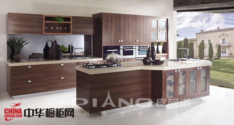 田园风格皮阿诺橱柜图片-整体橱柜效果图-厨房橱柜装修设计效果图欣赏
