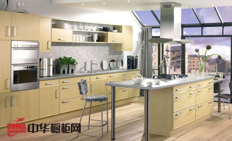 欧式田园风格大信整体橱柜装修效果图-2012年厨房橱柜效果图-橱柜设计效果图欣赏
