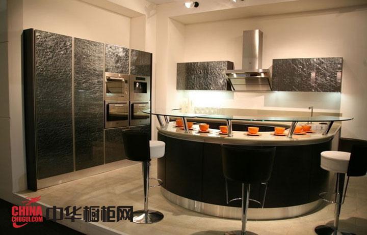 简约风格整体橱柜图片-黑色烤漆橱柜图片 不锈钢整体橱柜图片-厨房装修效果图大全2012图片