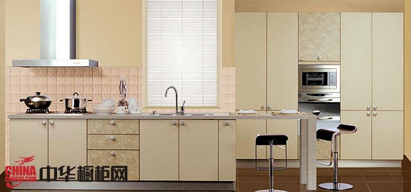香槟色整体橱柜效果图 不锈钢橱柜橱柜图片欣赏