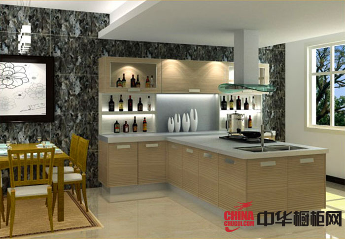 简约风格百能厨柜效果图-耐磨板系列 2012最新款整体橱柜图片欣赏