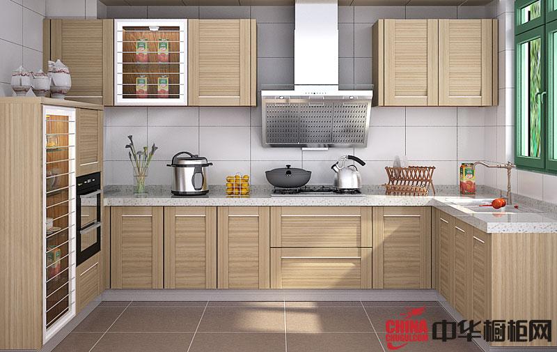 马克森橱柜效果图 田园风格橱柜设计效果图 厨房装修效果图欣赏