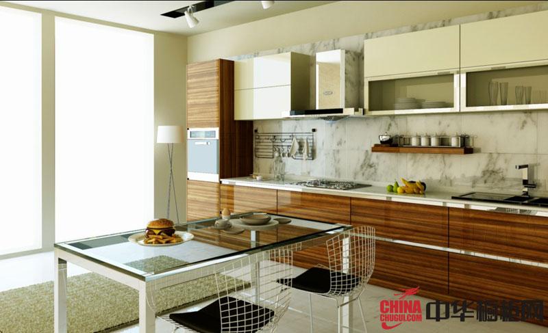 简约风格整体橱柜图片 烤漆橱柜效果图 厨房装修效果图大全2012图片