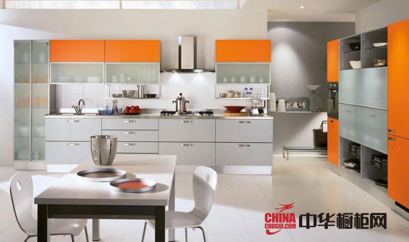 不锈钢整体橱柜效果图 现代风格橱柜设计图片