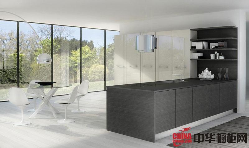 现代风格整体橱柜效果图 白色烤漆橱柜图片 2012最新款整体橱柜图片