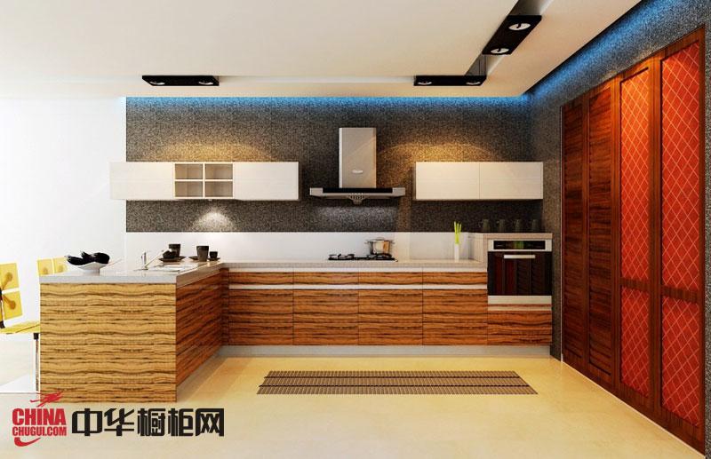 现代简约风格整体橱柜设计效果图 2012最新款整体橱柜图片欣赏