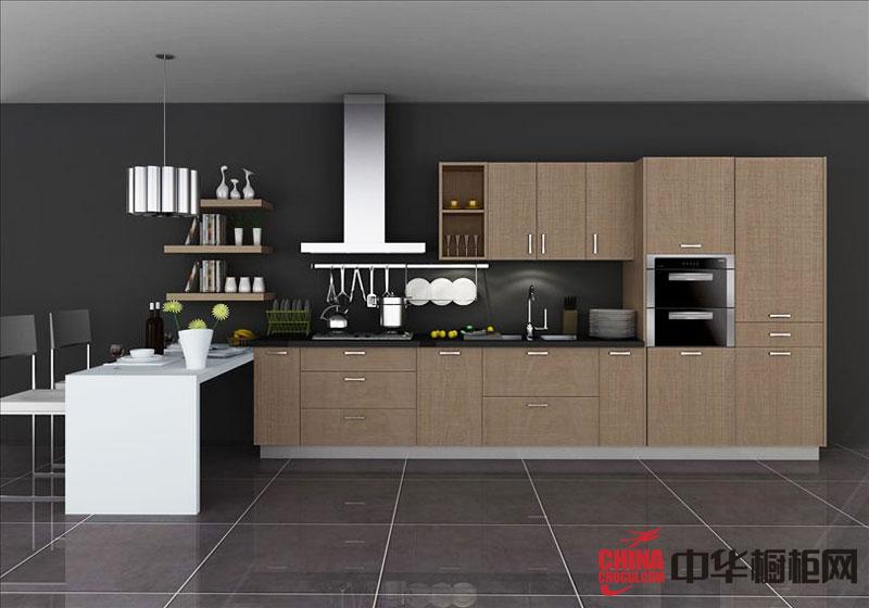 田园风格橱柜效果图 小厨房装修效果图享受自然的舒适空间