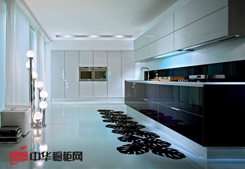 现代简约风格整体橱柜设计效果图-提玛诗 不锈钢整体橱柜效果图欣赏