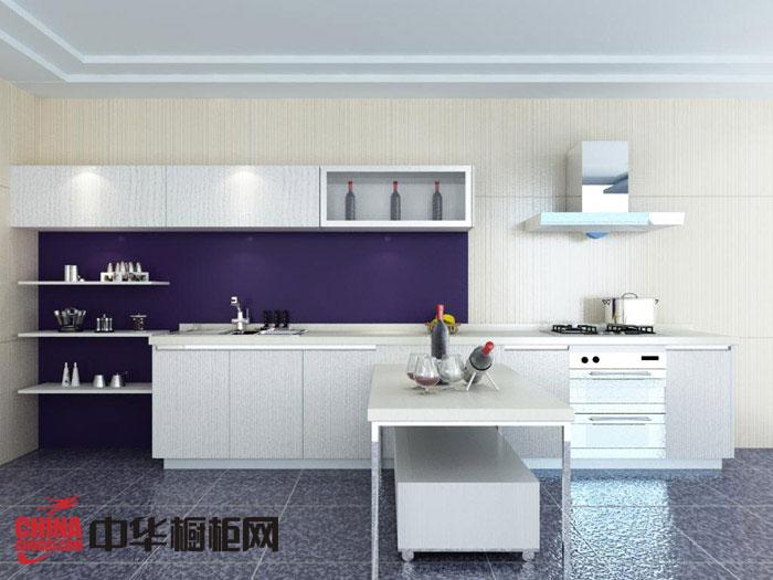简约风格整体橱柜设计效果图 白色烤漆橱柜效果图 厨房装修效果图大全2012图片