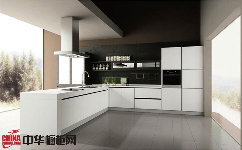 白色烤漆橱柜图片-萨洛尼卡 简约风格整体橱柜设计装修效果图欣赏