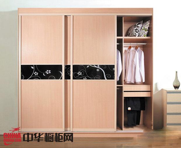 香槟色整体衣柜效果图 移门衣柜设计图 卧室衣柜装修效果图欣赏