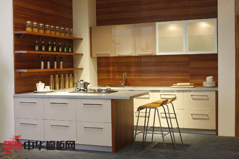 简约风格我乐橱柜图片 开放式橱柜设计图 厨房装修效果图大全2012图片