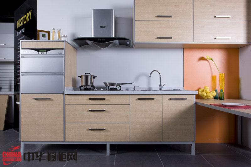 简约风格我乐橱柜装修效果图 厨房整体橱柜效果图 小厨房装修效果图