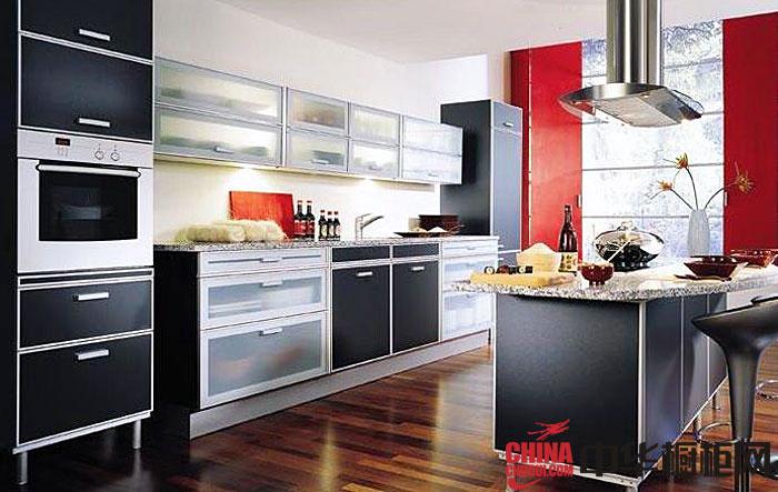 简约风格大信橱柜图片 厨房装修效果图大全2012图片