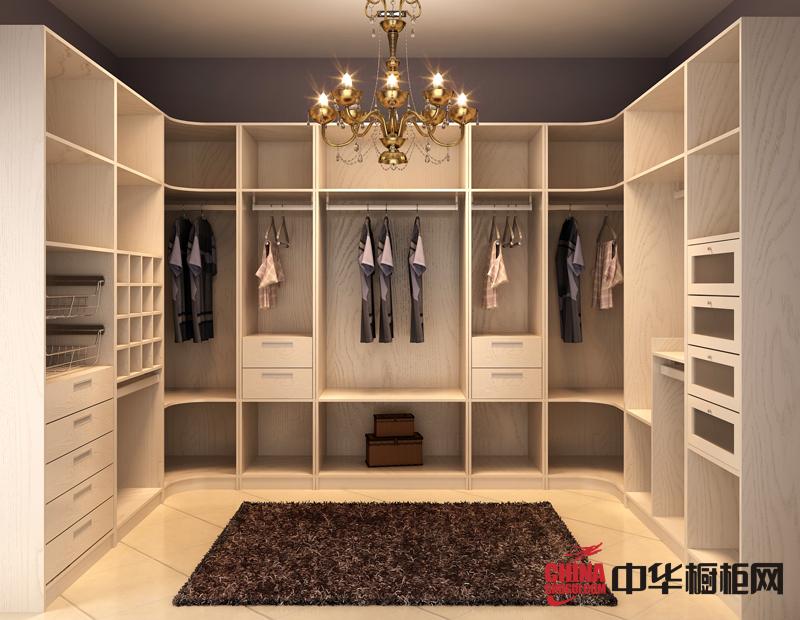 现代简约风格整体衣柜图片 卧室衣柜装修效果图欣赏