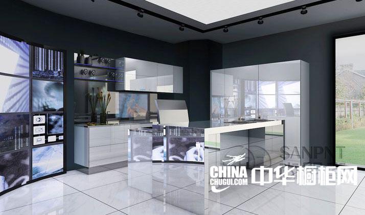 尚朋堂科技厨房之未来时代 整体橱柜装修效果图