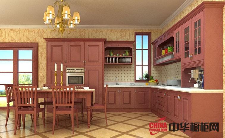 2012开放式厨房装修设计大全 皮尤特金利英伦橱柜效果图