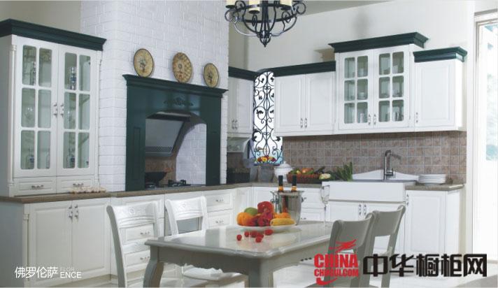 白色覆膜橱柜效果图 北欧简约风格橱柜设计图片