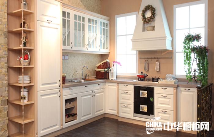 时尚典雅整体厨房装修设计 又见炊烟整体橱柜设计图