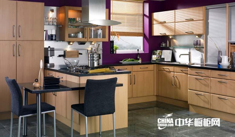 个性随意整体厨房效果图片 现代简约橱柜效果图片大全