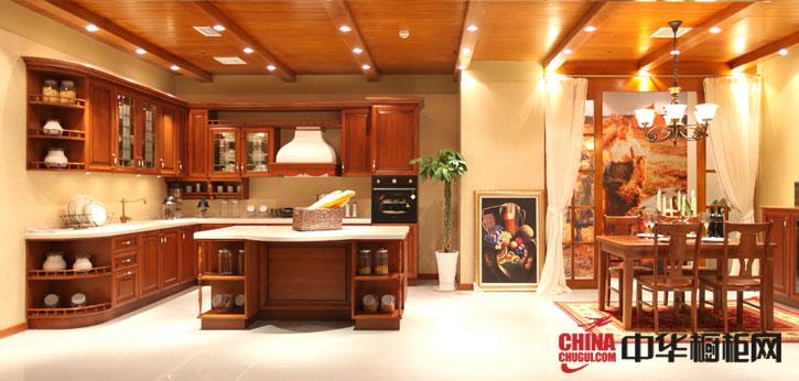 复古优雅橱柜效果图片欣赏 柏丽嘉橱柜之皇家后院系列