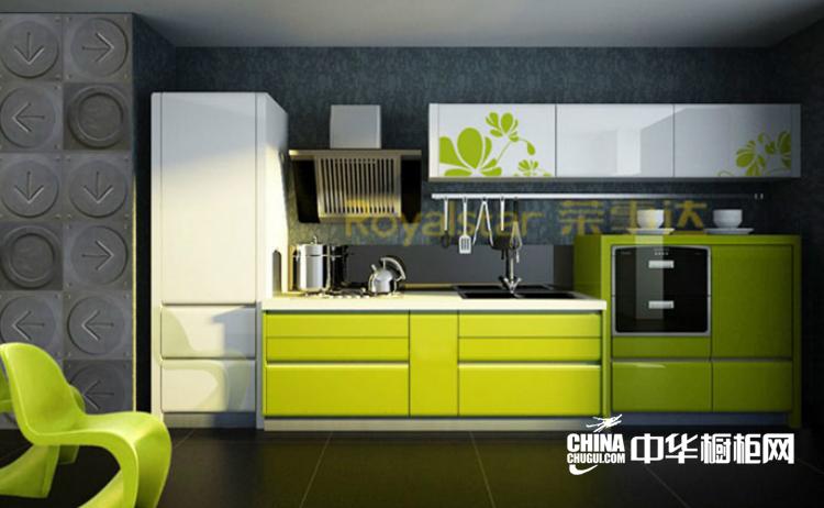 质朴浪漫开放式厨房装修效果图 费络普林斯整体橱柜图片欣赏