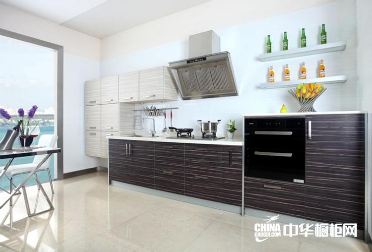 2013最新整体厨房效果图片 卡兰琳娜整体橱柜装修图片