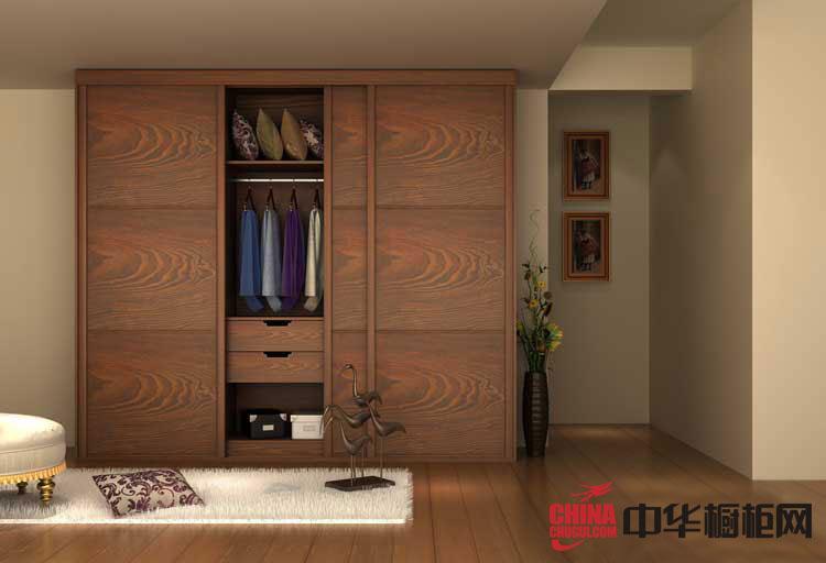 """圣丽家居""""木质衣柜"""" 实木衣柜设计图 2013年最新款整体衣柜效果图"""