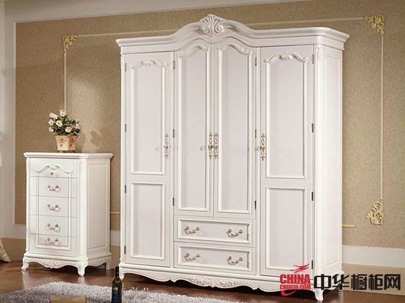 欧式风格整体衣柜图片 卧室衣柜装修效果图