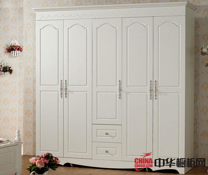 最新款整体衣柜图片 白色烤漆大衣柜效果图