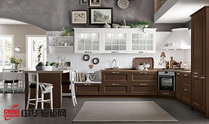 2013年最新款整体橱柜图片 厨房装修效果图大全2012图片