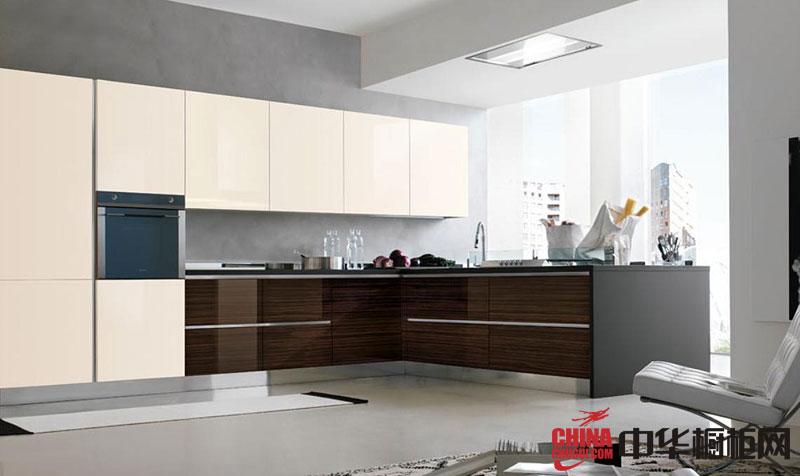 L型整体厨房装修效果图大全2012图片展示