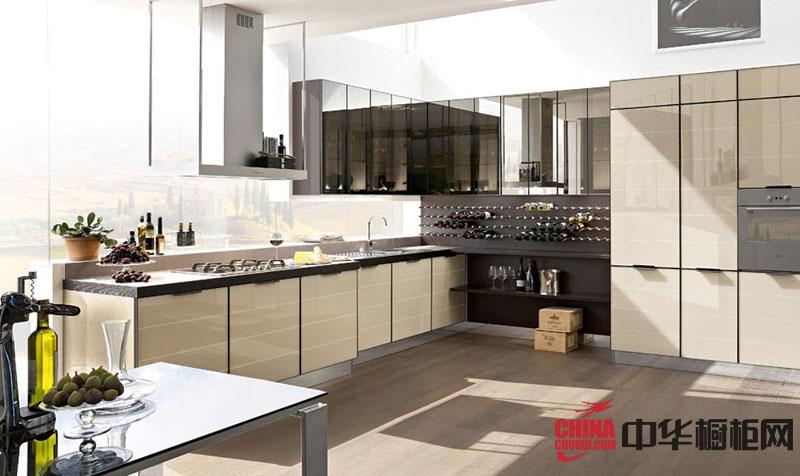 2013最新款整体橱柜图片 厨房装修效果图大全2012图片