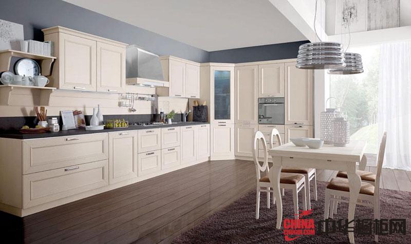 开放式厨房装修效果图大全2012图片 欧式橱柜图片展示