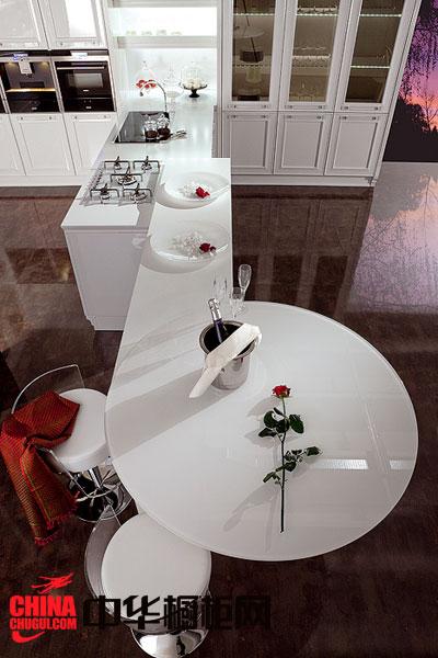 简约风格整体橱柜效果图 白色烤漆橱柜图片