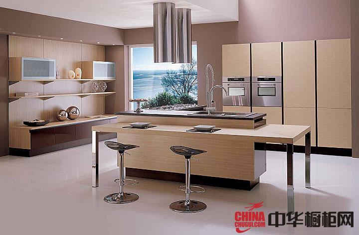 2013年最新款整体橱柜图片 开放式厨房装修效果图大全2013图片